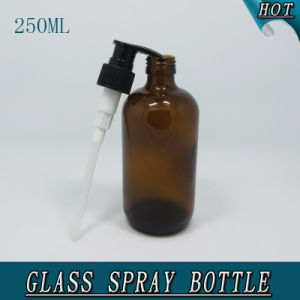 250ml Amber Cosmetic Creams Packaging Glass Lotion Bottle pictures & photos