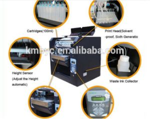 Kybyc 2017 New Design Hot Sale High Speed Flatbed LED-UV Flatbed Printer pictures & photos