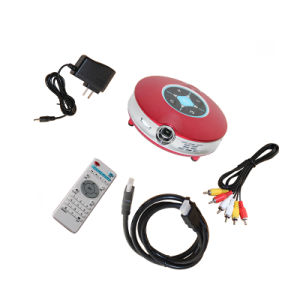 Mini LED Multimedia Projector X9/ Mini LED Projector / WiFi LED Projector pictures & photos