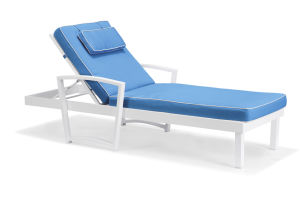 Aluminium Frame with Cushion for Swimming Pool Sunbed Lounger pictures & photos