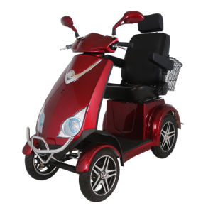 Hot Sale Four Wheel Electric Scooter for Old People with 500W Motor pictures & photos