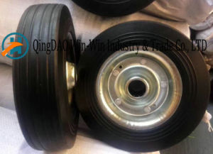 Solid Rubber Wheel for Hand Truck (8*1.75) pictures & photos