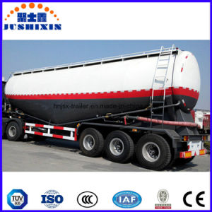 High Quaity Low Price Lime Tanker Truck Semi Trailer pictures & photos