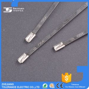 Factory Supply Ball Type Stainless Steel Cable Ties