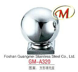 China Good Quality Stainless Steel Ball with 3 Holes pictures & photos