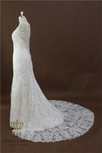 Beautiful New Model Real Amanda Novias Wedding Lace Mermaid Wedding Dresses pictures & photos