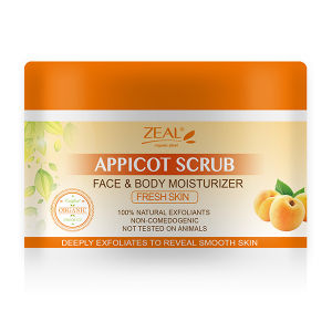 Zeal Appicot Body Soft Whitening Body Scrub pictures & photos