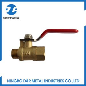 Forged NPT Full Port Brass Ball Valve pictures & photos