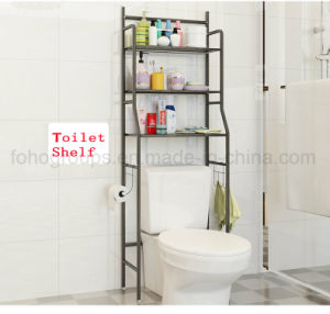 Bathroom Shelf Space Saver Over The Toilet Wire Metal Shelves Storage Organizer with 3 Tier pictures & photos