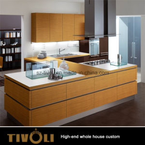 America Solid Wood Granite Counter Top Kitchen Cabinet and Kitchen Furniture (AP140) pictures & photos