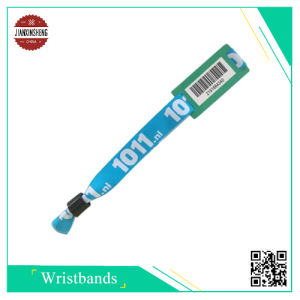 2D Barcode Woven Bracelet by Customized pictures & photos
