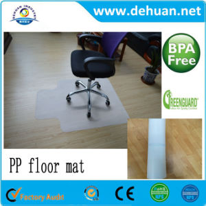Custom Plastic PP Floor Chair Mats For Hard Floor/ Carpet Protection pictures & photos