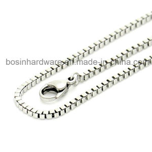 Stainless Steel Box Chain for Jewelry pictures & photos