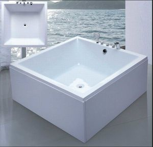 1700mm Square Modern Hot Tub (AT-6003) pictures & photos