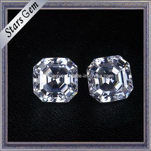 Sparkle Asscher Cut 8X8mm Moissanite Loose Stone pictures & photos