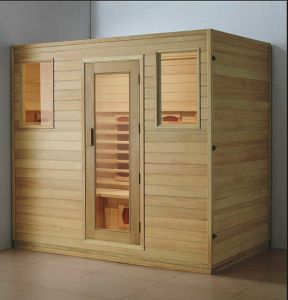 Solid Wood Sauna Room (AT-8616) pictures & photos