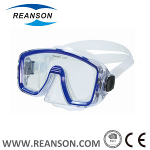 Wide View Silicone Diving Mask in Fashion pictures & photos