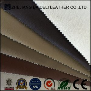 Microfiber PVC Leather for Car Seat Covered and Interior Decoration pictures & photos