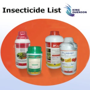 King Quenson Agrochemical Insecticide Pesticide List pictures & photos