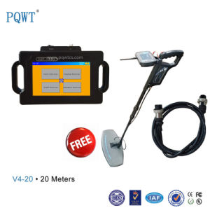 V4 Multifunction Treasure Hunting Underground Cave Metal Gold Detector pictures & photos