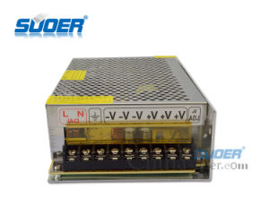 Suoer Manufacture 240W AC DC Single Output CCTV Camera 12V 20A Power Supply (SPD-P240) pictures & photos
