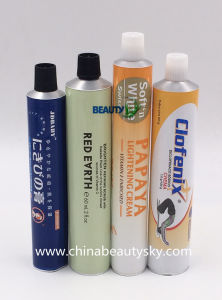 Cosmetic Packaging Professional Hair Dying Cream Empty Collapsible Aluminum Tube pictures & photos