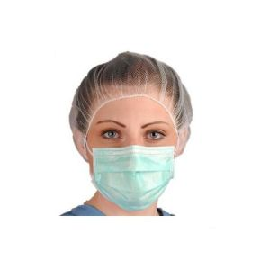 Disposable Surgical Facemask Green/Blue with Earloop pictures & photos