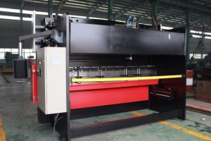 Stainless Steel Bending Machine Wc67y-400/6000 with CNC Controller pictures & photos