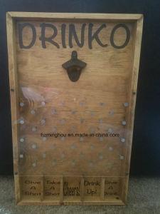 Custom Drinko Plinko Bottle Opener Game Rack From Minghou pictures & photos