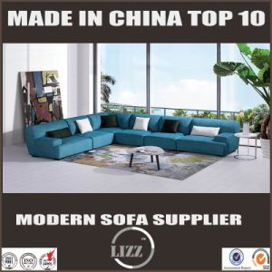 Simple L Shape Fabric Sofa pictures & photos