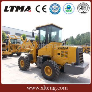 1 Ton Mini Log Grapple Wheel Loader with Quick Hitch pictures & photos