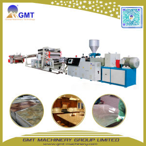 PVC Artificial Faux Marble Sheet Wall-Board Plastic Extruder Making Machine pictures & photos