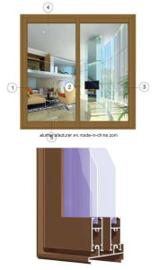 Zh-A67 Series Sash Aluminium Alloy Extrusion Profile for Door and Window pictures & photos