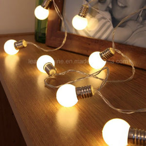 Battery Operated Warm White Bulb String Light Event Fairy Party Decoration pictures & photos