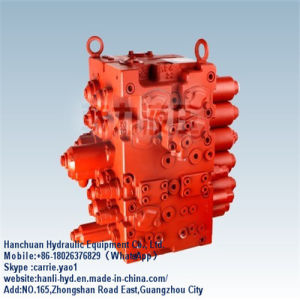 Kawasaki Hydraulic Fuel Control Valve Wholesale for Excavator (KMX15RB Series) pictures & photos