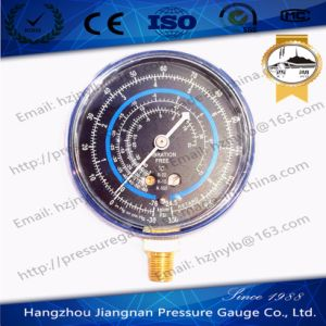 350psi Vibration Free Refrigerant Pressure Gauge of R-22/R-12/R-502 pictures & photos