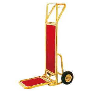 Loading Capacity up to 50kgs Folding Hotel Luggage Cart pictures & photos