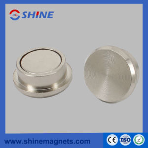 Tailored Neodymium Button Magnets D22 pictures & photos