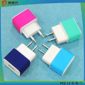 USB Mobile Charger for Samsung iPhone with CE RoHS FCC