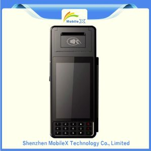 Wireless POS Terminal with Barcode Reader, 4G, 5 Inch Touch Screen pictures & photos