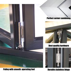 Double Glass Customized Size Aluminium Casement Door pictures & photos