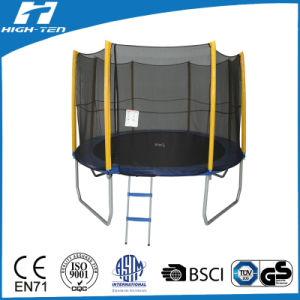 10FT Standard Round Trampoline with Enclosure pictures & photos