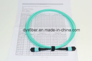 High Density Sm, mm MPO/MTP 8/12/24 Core Trunk Multicore Fiber Optic Cables for Data Center pictures & photos
