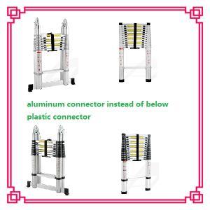 3.8m Wide Step Aluminum Telescopic Ladder pictures & photos