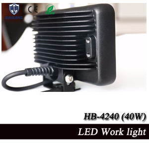 New Arrival and High Quality IP68 Waterproof 8 Inch Truck 40W LED Work Light (HB-4240 40W) pictures & photos