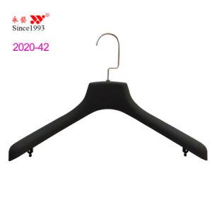 Wide Shoulder Plastic Display Coat Hangers Custom pictures & photos