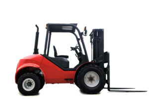 3.5t Diesel Forklift Good Quality off Road Forklift pictures & photos