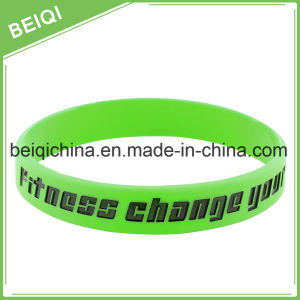Cheap Promotion Item Eco-Friendly Silicone Wristband for Wholesale pictures & photos