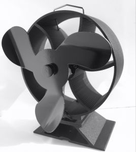 Whisper Quiet Heat Powered Wood Stove Fan Eco Top Fan No Need Electricity pictures & photos