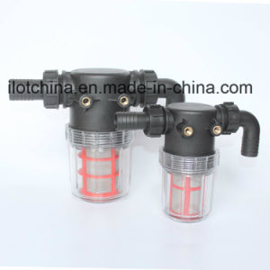 Ilot Water Hose Connect Transparent Bottle Filter Systems Filtrator pictures & photos